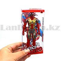 Фигурка супергероя Jastice hero шарнирная 14 см альтернативный Человек паук