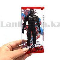 Фигурка супергероя Jastice hero шарнирная 14 см альтернативный Черная пантера