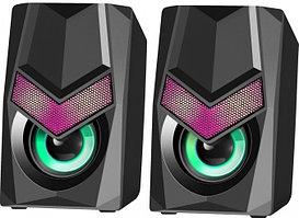 Компактная акустика 2.0 Defender Solar 1 черный
