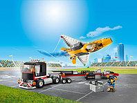 LEGO City 60289 Транспортировка самолёта на авиашоу, конструктор ЛЕГО