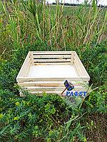 Ящик деревянный подарочный №8, размер 60*60*20 см, не окрашенный