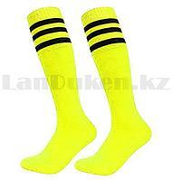 Футбольные гетры (неоново жёлтые)