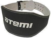 Пояс тяжелоатлетический Atemi, AFB04XL, кожа 15 см размер XL