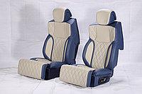 Капитанские задние сиденья и туннель для Mercedes-Benz V-class