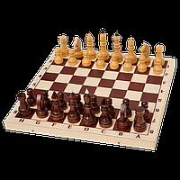 Шахматы турнирные утяжеленные в комплекте с доской