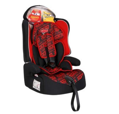 Удерживающее устройство для детей «Siger» серия Disney, Драйв, гр. I/II/III, Тачки гонка красный