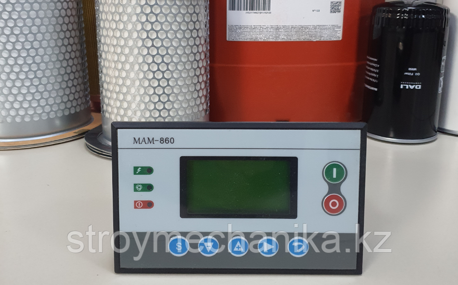 Панель управления винтового компрессора MAM-860