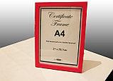 Рамка А4 для дипломов и сертификатов в алматы, фото 3