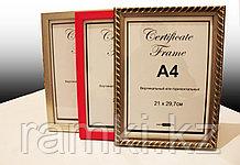 Рамка А4 для документов в алматы