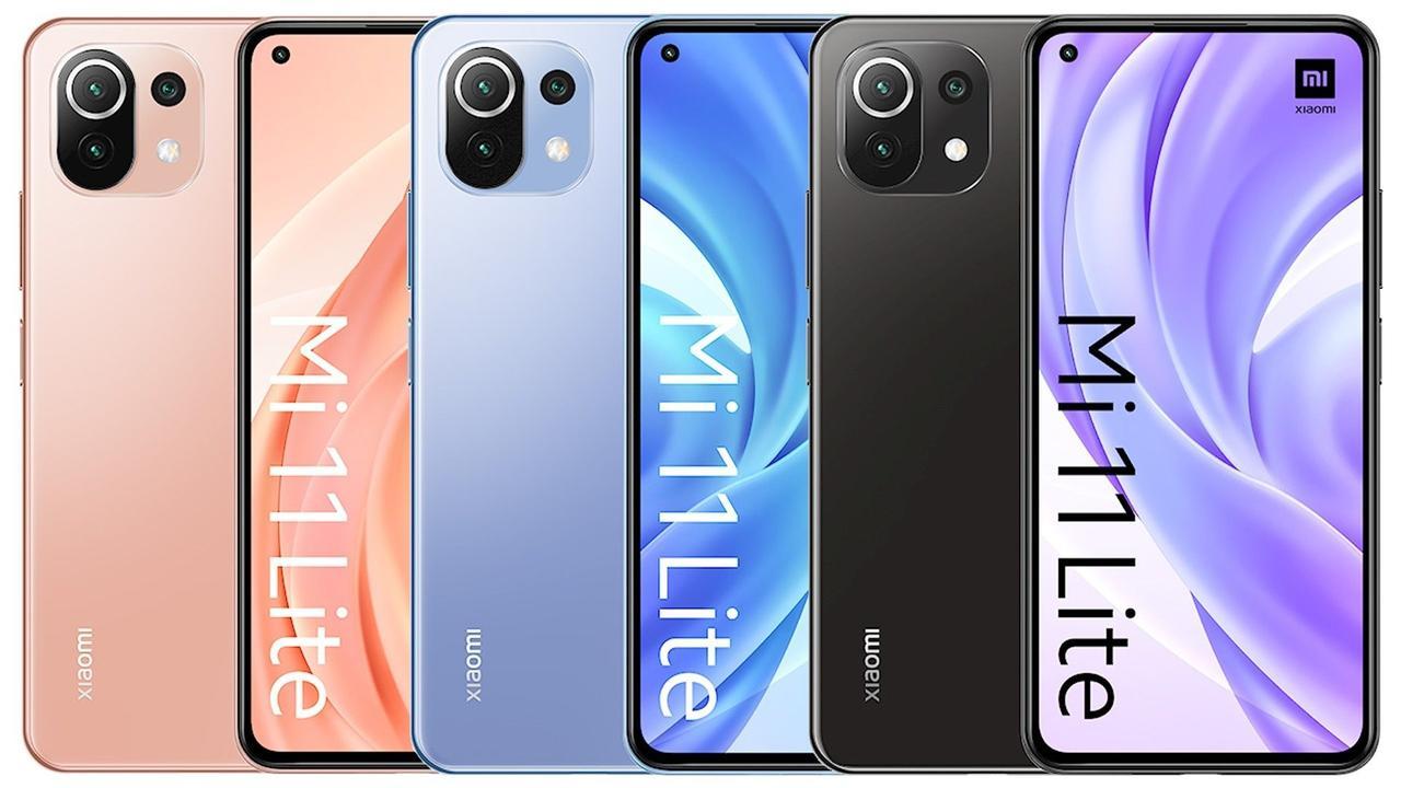 Xiaomi Mi 11 Lite 6/128Gb Midnight Pink