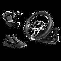 Руль Sven GC-W700 12 кнопок + педали + рычаг переключения передач USB