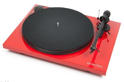 Проигрыватель виниловых пластинок Pro-Ject Primary OM 5E 65dB RCA+Ground Red
