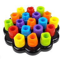Головоломка Qunxing Toys Цветные колышки M10A