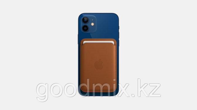 Магнитный кардхолдер для iPhone (коричневый)