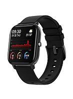 Фитнес смарт часы тонометр давление пульс
