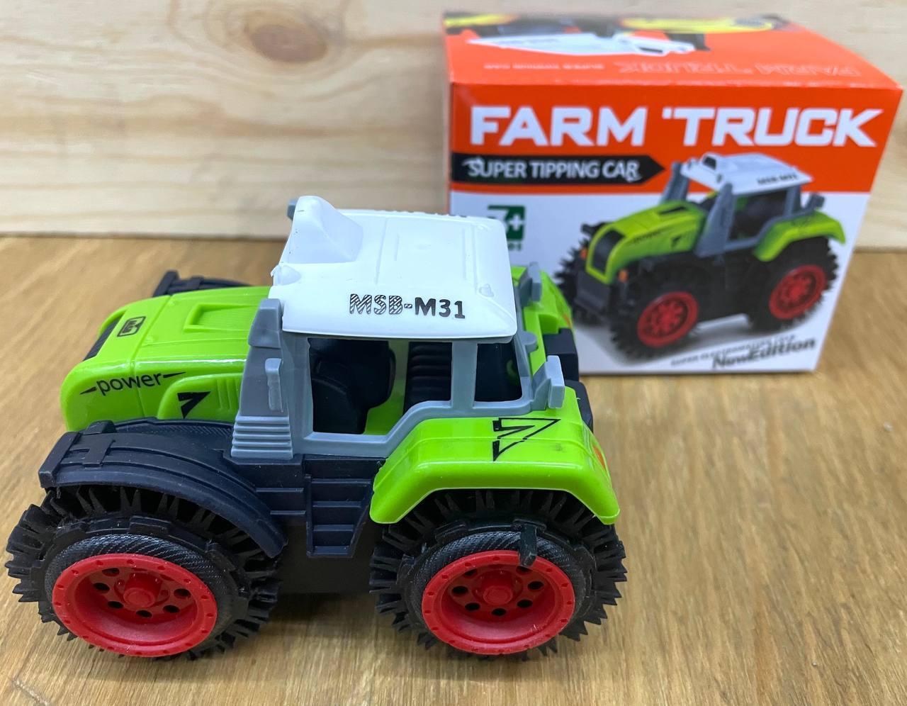 M31 Farm Truck Трактор перевертыш на батарейках 11*8см