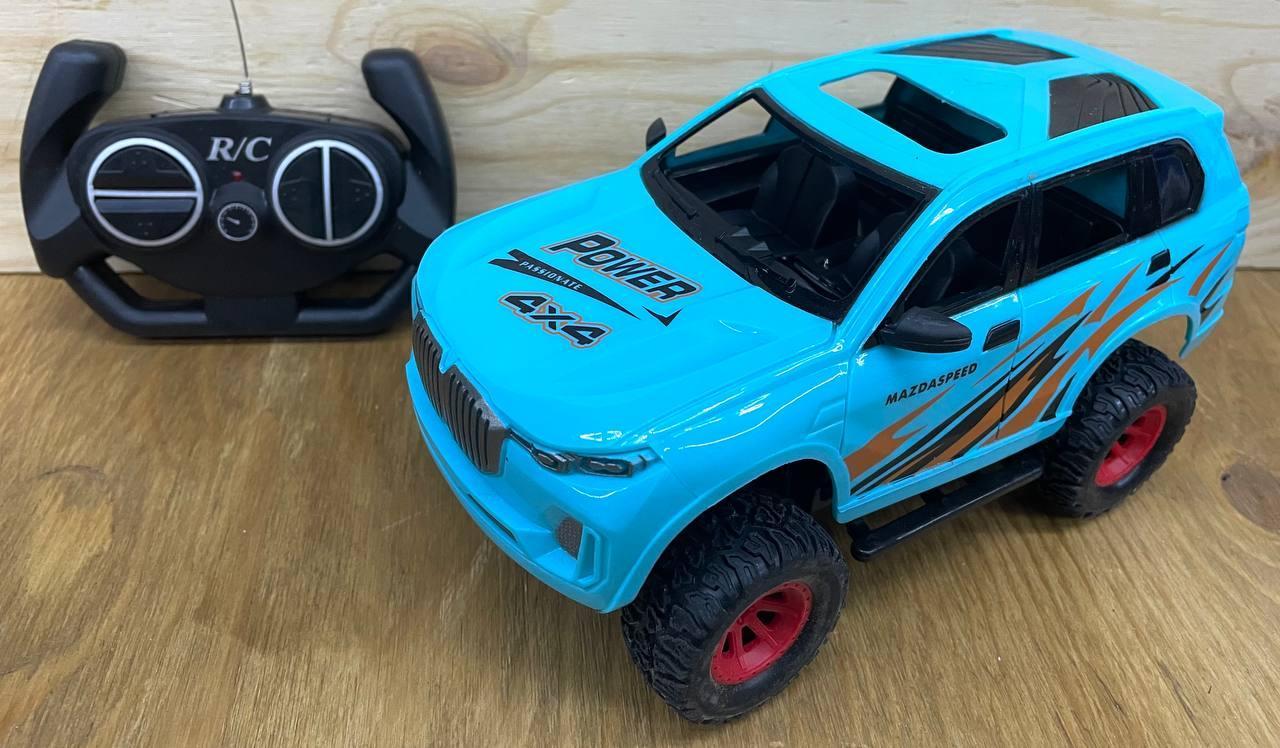 771-1 Синяя машина на р/у 4 функции 32*13см