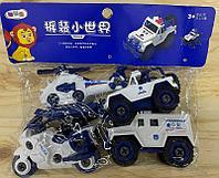 666-49 Полицейская спец машина 4 вида в пакете 25*27см
