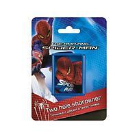 Точилка с двумя отверстиями Spider-man блистер, европодвес Spider-man