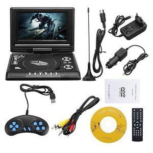 Портативный DVD плеер Portable EVD со встроенным телевизором (22.8)