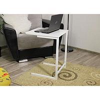 Журнальный столик приставной Стеллс-2 500х450х630 Белый