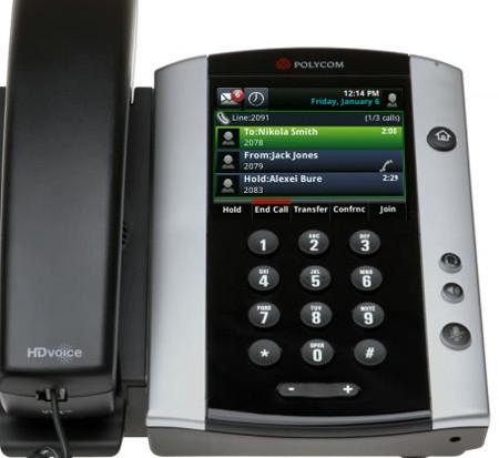 IP телефон VVX 500 (Microsoft Skype for Business/Lync edition)