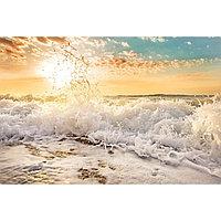 Картина на подрамнике 'Морская пена' 50*100 см