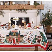 Набор столовый Этель 'Новогодняя ярмарка' скатерть 150*180 +/-3см с ГМВО, салф.40х40см - 8шт