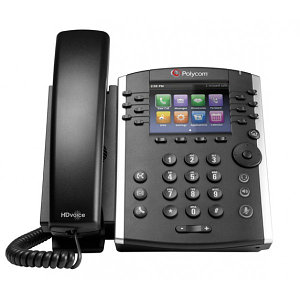 IP телефон VVX 410 (Microsoft Skype for Business/Lync edition)