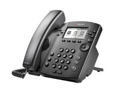 IP телефон Polycom VVX 301 (Microsoft Skype for Business/Lync edition)