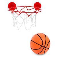 Баскетбол 'Бросок', крепится на присоски