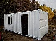 Бытовки под офис из 20 футовых контейнеров, фото 2