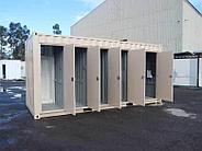 Туалет из 20 футового контейнера, фото 5
