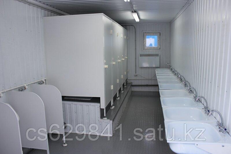 Туалет из 20 футового контейнера