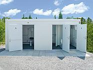 Туалет из 20 футового контейнера, фото 7