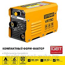Сварочный аппарат инверторный ММА,190 А, STEHER