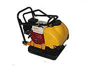 Виброплита ХЗР-100 (двигатель Honda) с баком для воды