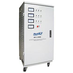 Стабилизатор напряжения RUCELF трехфазный  SDV-3-20000
