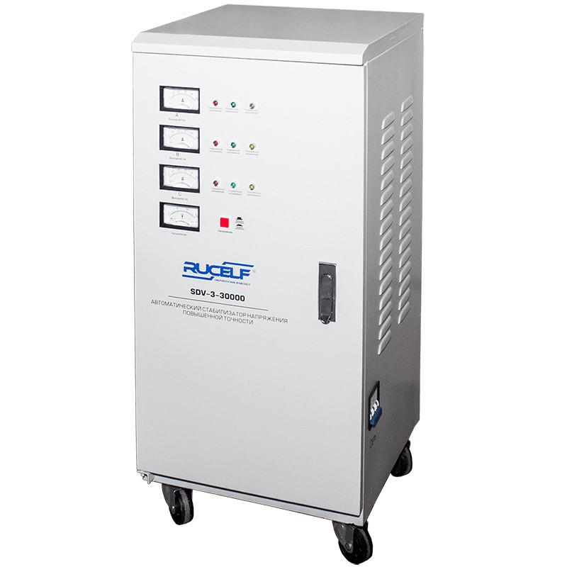 Стабилизатор напряжения RUCELF трехфазный  SDV-3-30000