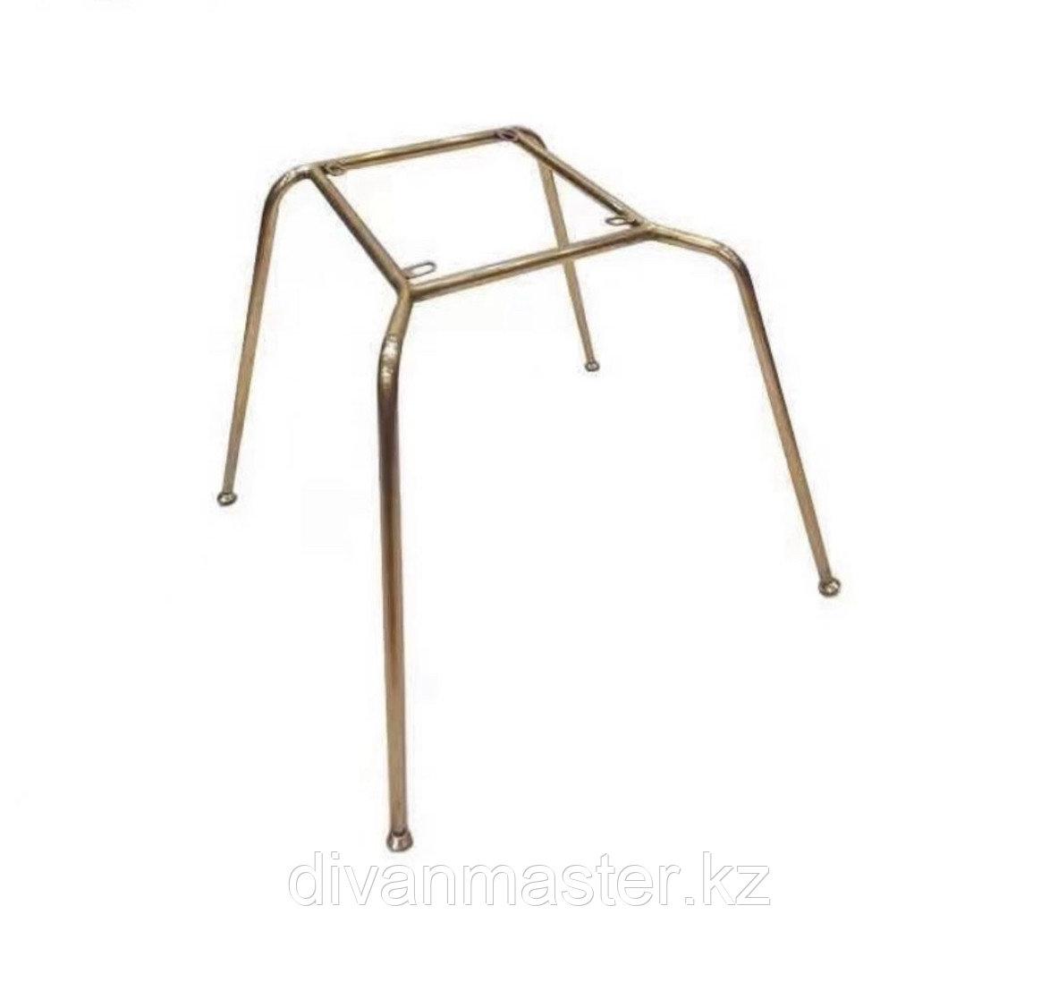 Основание стула, сталь, высота 40 см, цвет латунь