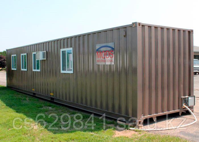 Утепленный контейнер, бытовка 40 футовый
