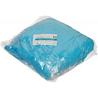 Чехол на кушетку на резинке спанбонд 200x90, голубой 30 г/кв.м (10шт/уп) Чистовье