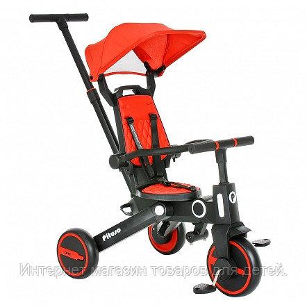 PITUSO Велосипед трехколесный Leve, складной, разм. упак. 65х34х31 см, Red/Красный