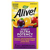 Мультивитамины для женщин Nature's way alive США (60 таблеток)