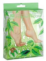 """Гелевые """"носочки"""" увлажняющие с экстр. зеленого чая Beauty Style"""