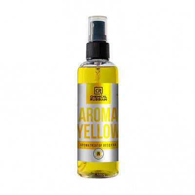 Aroma Yellow - Ароматизатор салона, 100 мл, CR836, Chemical Russian