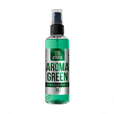 Aroma Green - Ароматизатор салона, 100 мл, CR835, Chemical Russian