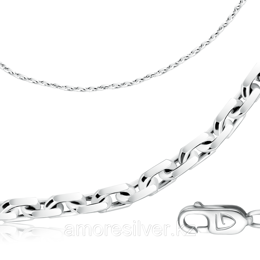 серебро с родием, без вставок, якорная 81100141455 размеры - 55