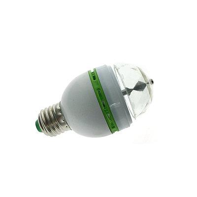 Лампочка LED, вращающаяся диско-лампа, Espada E-ED27-3W