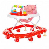 BAMBOLA Ходунки Горошинка (8 силик.колес,игрушки,муз) 6 шт в кор.(72*61,5*57) Red/Красный